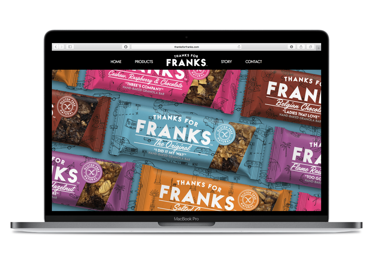 Thanks for Franks website design