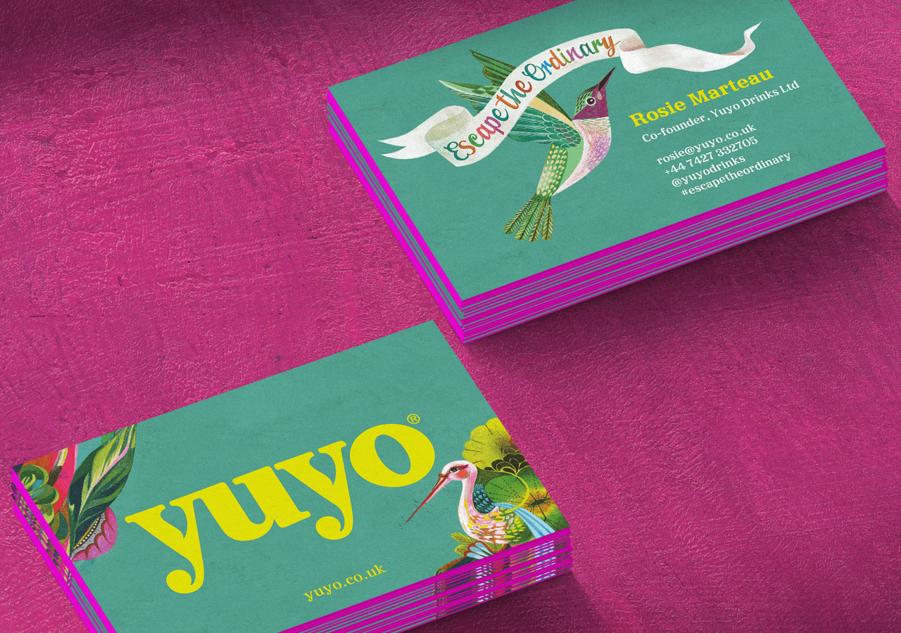 Yuyo business card design