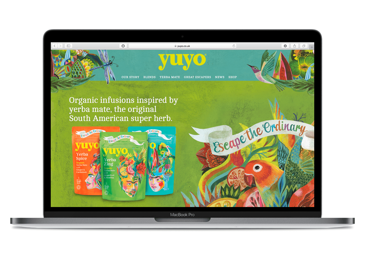Yuyo Website Design