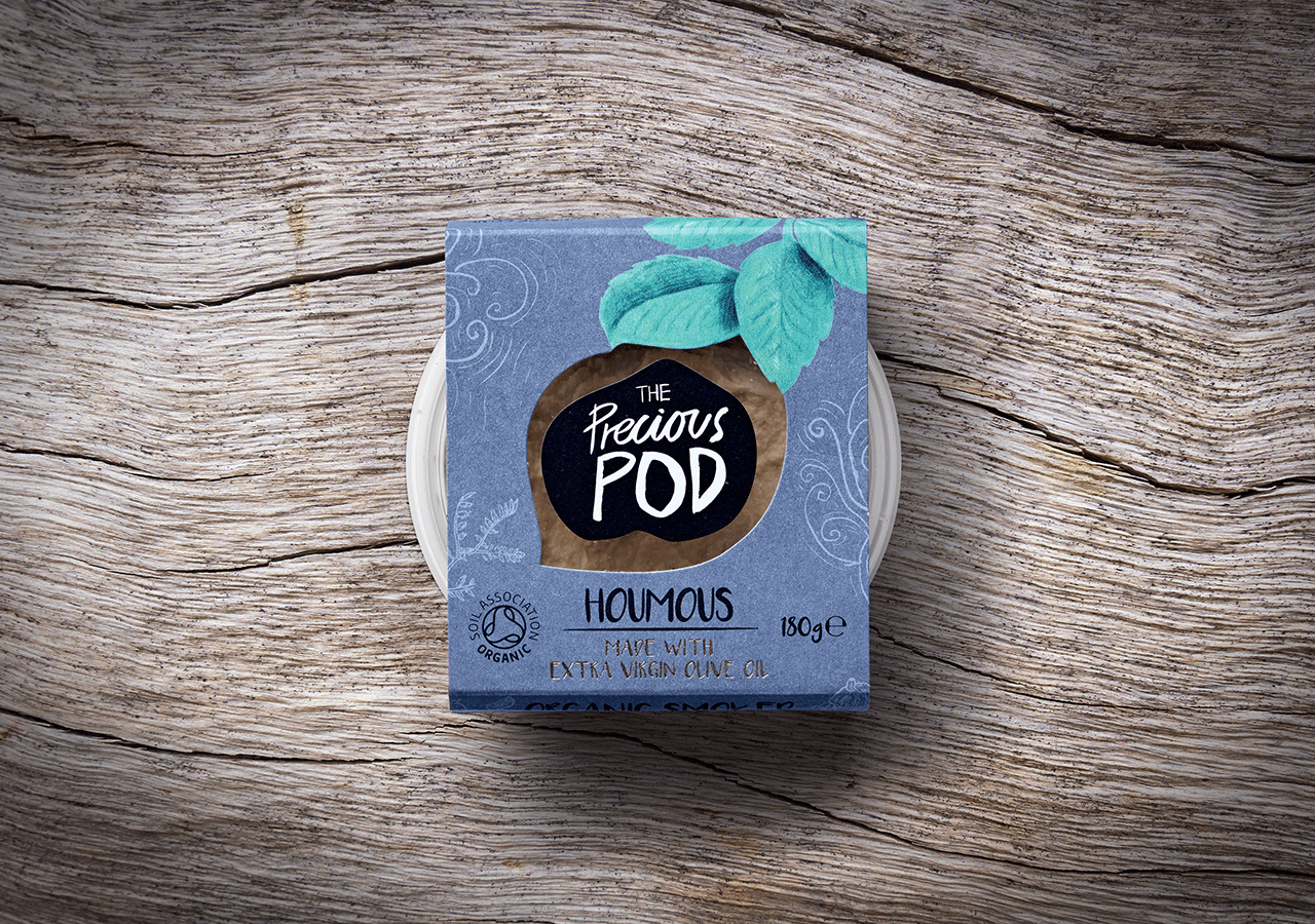 The Precious Pod Smoked Houmous