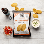 Food Should Taste Good Sweet Potato Tortilla Chips Packaging Design