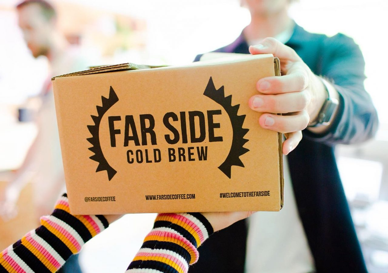 Farside Cold Brew Coffee Branding Shipper
