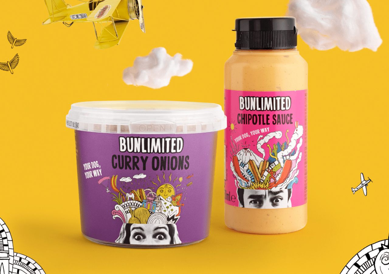 Bunlimited Brand Creation Pots & Sauce Shots