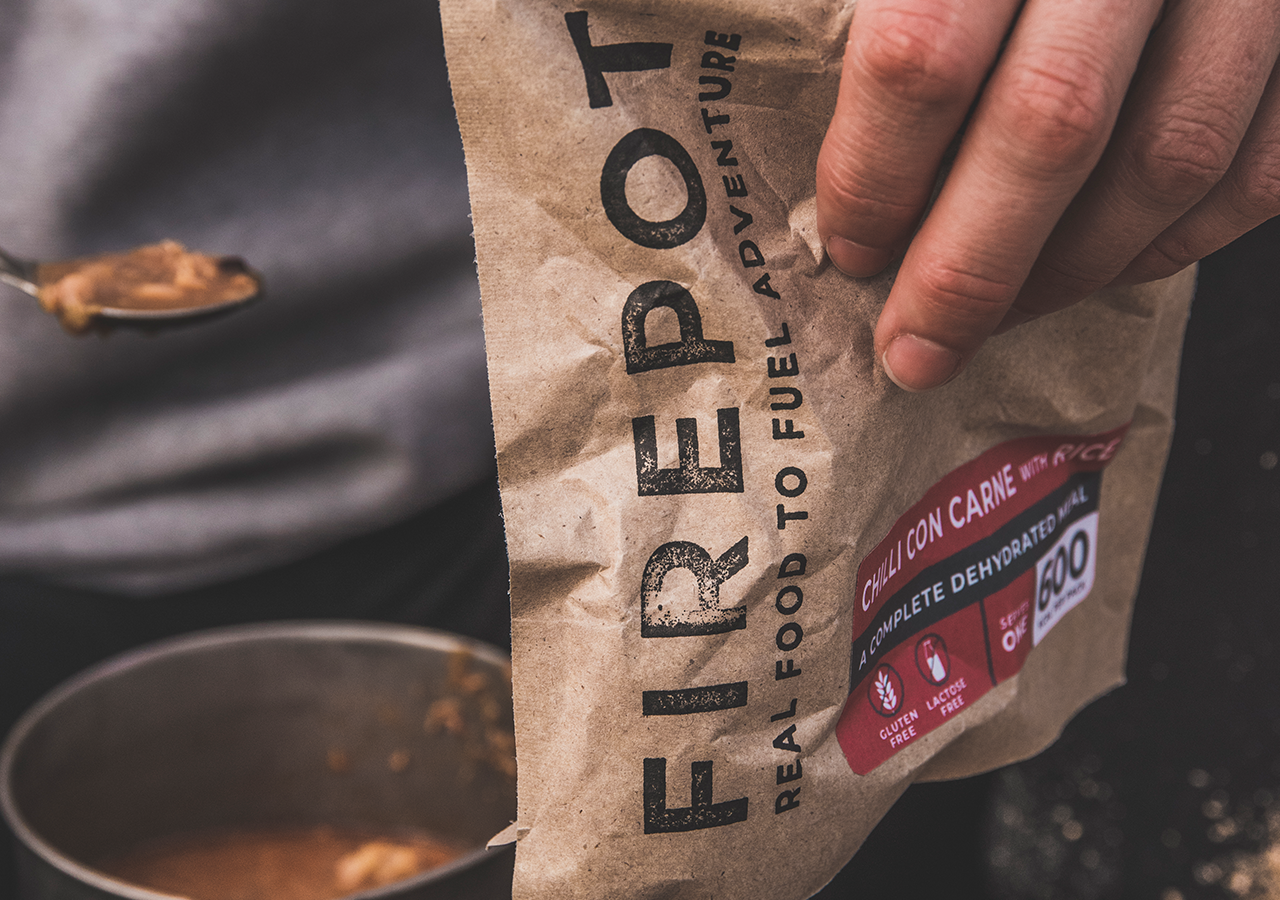 Firepot Foods Rebrand Compostable Lifestyle 1